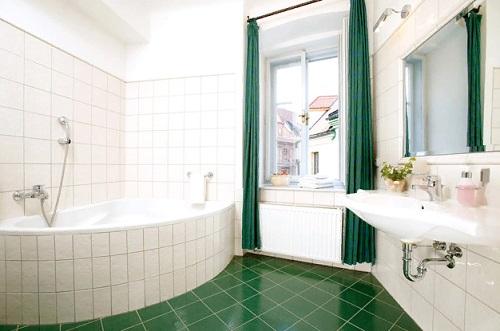 чистка ванной уксусом