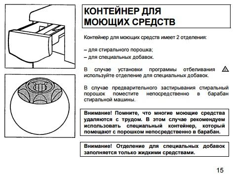 Инструкция по эксплуатации стиральной машины Канди Акваматик