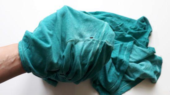 Избавление от лишней одежды