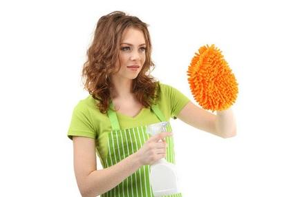 как чистить уксусом