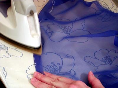 Как гладить шифон