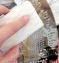 Как очистить подошву утюга от накипи