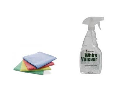 Как отчистить ванну уксусом