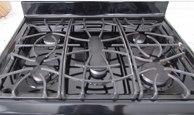 Как отмыть решетку газовой плиты от жира