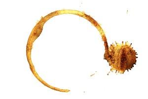 Как вывести пятно кофе