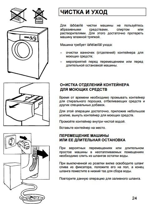 Стиралка Канди Акваматик 8t инструкция