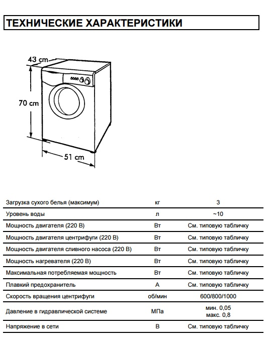 стиральная машина candy aquamatic 8t инструкция по эксплуатации